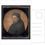 Portrait of Geoffrey Chaucer c.1600 by English School
