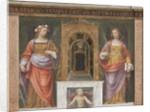 Saint Rose and Saint Justina by Bernardino Luini