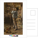 I am a painter too or Dilettante or The painter's studio, 1885 by Giovanni Sottocornola