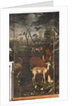 Animals, Myth of Orpheus, detail by Italian School