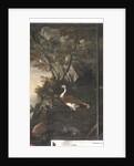 Myth of Orpheus: cats, hares, birds by Italian School