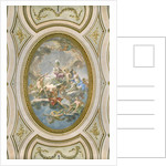 La Sapienza, ceiling of the Salone d Onore or Sala Napoleonica, 1777 by Martin Knoller