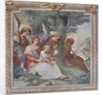 Rest on the Flight into Egypt, Chapel of Santa Margherita by Italian School