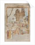 Life of Saint Ambrose, scene, 15th century by Bernadino & Zenale B. Butinone
