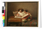 The Art Lover by Eastman Johnson