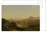 Scene Among the Andes, 1854 by Frederic Edwin Church