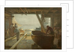 The Boat Builders by Edward Henry Potthast