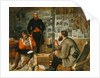 A Welcome Arrival, 1857 by John Dalbiac Luard