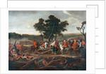 The Battle of Malplaquet, 11th September 1709, c.1713 by Louis Laguerre