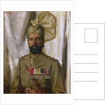 Subadar Khudadad Khan VC, 10th Baluch Regiment, c.1914-35 by Charles Bevan