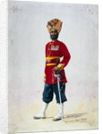 Soldier of the 35th Sikhs, Subadar by Alfred Crowdy Lovett