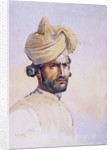 Soldier of the 82nd Punjabis, Awan by Alfred Crowdy Lovett