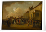 Frederick Augustus, Duke of York, reviewing troops in Flanders, 1794 circa by William Anderson
