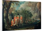 The 25th Regiment of Foot in Minorca, c.1771 by Giuseppe Chiesa
