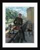 Rex Whistlers self-portrait in Welsh Guards uniform, May 1940 by Rex Whistler
