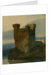 Castle by Water by John Sell Cotman