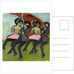 Panama Dancers, 1910-1911 by Ernst Ludwig Kirchner