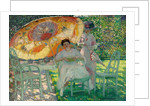 The Garden Parasol, c.1910 by Frederick Carl Frieseke