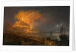 The Eruption of Mt. Vesuvius, 1777 by Pierre Jacques Volaire