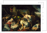 The Adoration of the Shepherds, c.1585-1590 by Francesco Bassano