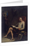Don Quixote Reading, c.1868 by Honore Daumier