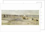 Sketch of Littlehampton Beach, 1890 by Charles Edward Conder