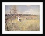 Springtime, 1888 by Charles Edward Conder