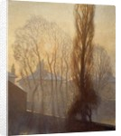 The Houses at the Back: Frosty Morning, 1913 by George Clausen