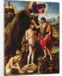 The Baptism of Christ by Marco Palmezzano