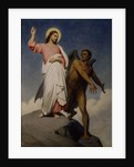 The Temptation of Christ, 1854 by Ary Scheffer