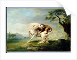 A Lion Attacking A Horse, c.1765 by George Stubbs