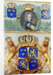 Document ratifying the 1699 Treaty of Kardis sent by Swedish King Charles XII to Russian Emperor Peter the Great, 1699 by Swedish School