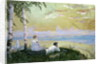 On the Volga by Boris Mikhailovich Kustodiev
