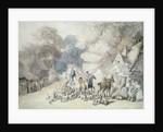 Going Out in the Morning, a Scene in Windsor Forest, c.1801 by Thomas Rowlandson