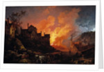 Coalbrookdale by Night, 1801 by Philip James de (1740-1812) Loutherbourg