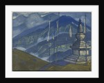 Waves of Mist, 'Himalayan' series, 1924 by Nicholas Roerich