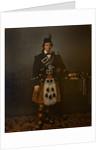 Michael McCarfrae, Piper to the 11th Duke of Hamilton, 1852 by Rospar Bravell
