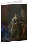 Queen Charlotte in her Coronation Robes by Allan Ramsay