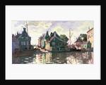 Zaandam by Claude Monet