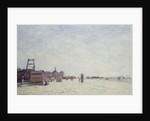 Berck-Plage, 1890 by Eugene Louis Boudin