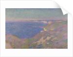 The Cliffs Near Dieppe, 1897 by Claude Monet