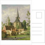 Church Seen from the Rear, c.1890-92 by Piet Mondrian