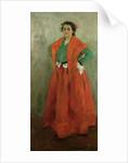 The Artist's Wife dressed as a Spanish Woman, c.1901 by Alexej von Jawlensky