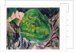 Field of Livestock, 1918 by Ernst Ludwig Kirchner