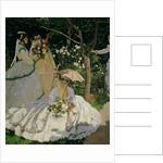 Women in the Garden by Claude Monet