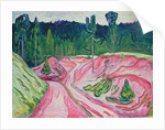 Forest in Thuringia, c.1904 by Edvard Munch
