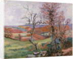 The Puy Barion at Crozant, Brittany by Jean Baptiste Armand Guillaumin