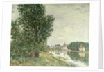 Moret-sur-Loing, 1892 by Alfred Sisley