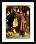 The Escape of a Heretic, 1559, 1857 by John Everett Millais