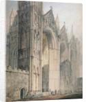 Peterborough Cathedral by Thomas Girtin
